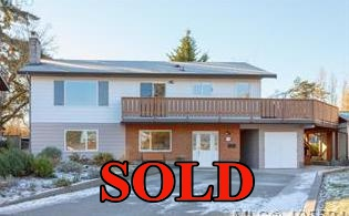 Saanich West Home sold by David Stevens, Royal LePage Victoria