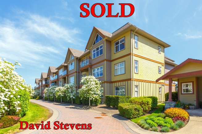 Condo Saanichton sold by David Stevens